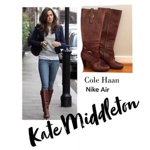 Cole haan nike air courtney boots